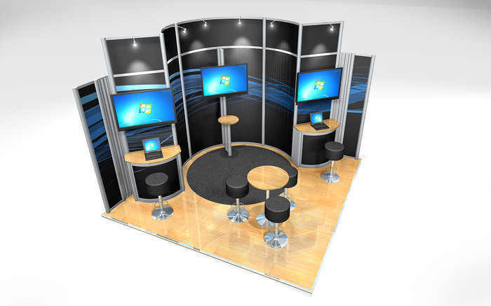 Small Exhibition Stand : Short on space how to make a small exhibition stand work for you