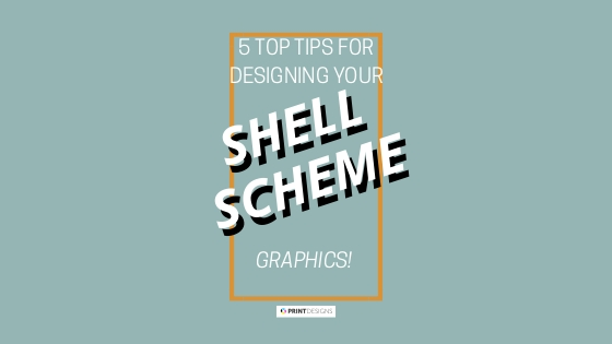 5 top tips for designing your shell scheme graphics from Printdesigns