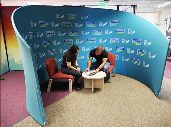 Image of the Formulate pop up meeting pod from Printdesigns