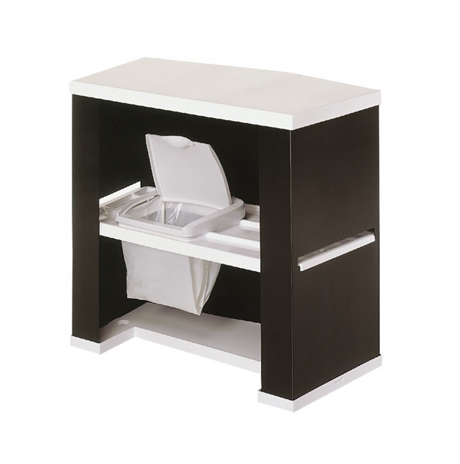 Image of the Promotor Action Counter with waste bin shelf available from Printdesigns.com